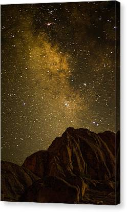 Milky Sky Canvas Print by Mike Schmidt