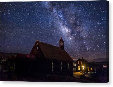 Milky Way At Bodie Canvas Print
