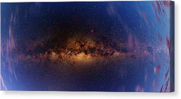 Milky Way At Dawn Canvas Print