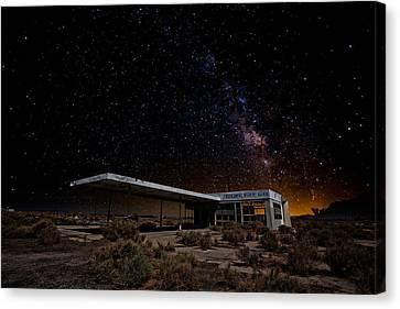 Milky Way Gas Canvas Print
