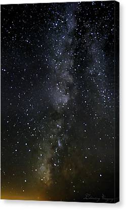Milky Way Canvas Print by Marlo Horne