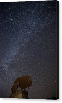 Milky Way  Canvas Print by Melany Sarafis