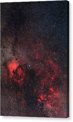 Nebula Canvas Print - Milky Way Nebulae by Babak Tafreshi