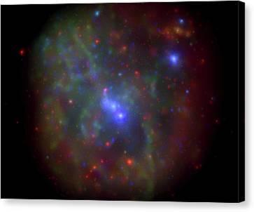Milky Way X-ray Activity Canvas Print by Nasa/swift/n. Degenaar (univ. Of Michigan)