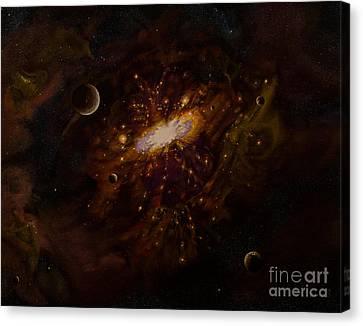 Milky Way Canvas Print by Zina Stromberg