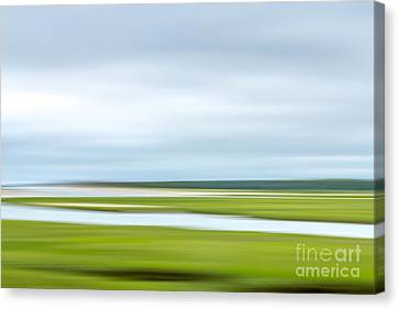 Mill Creek Marsh 1 Canvas Print by Susan Cole Kelly Impressions