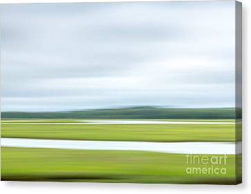 Mill Creek Marsh 2 Canvas Print by Susan Cole Kelly Impressions