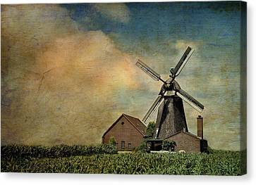 Mill Canvas Print by Heike Hultsch