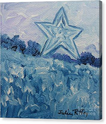 Mill Mountain Star Canvas Print