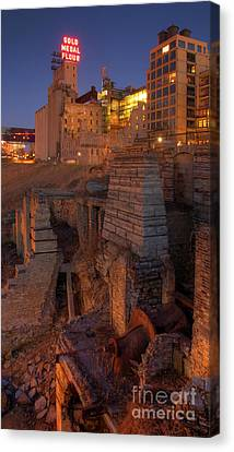 Mill Ruins Park Canvas Print by Kent Taylor