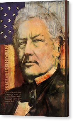 Millard Fillmore Canvas Print by Corporate Art Task Force