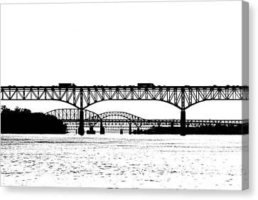 Millard Tydings Memorial Bridge Canvas Print