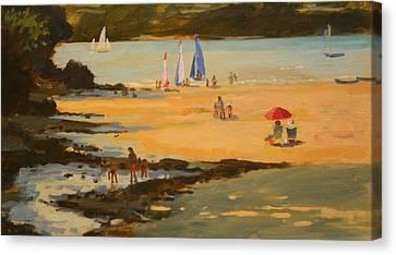 Ocean Inlet Canvas Print - Millbay by Jennifer Wright