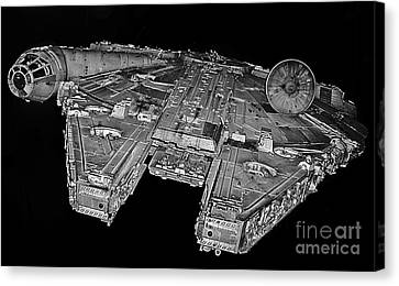 Millennium Falcon Canvas Print