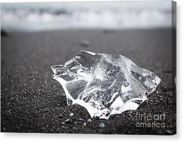 Canvas Print featuring the photograph Millennium Ice by Peta Thames