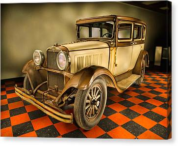Millers Chop Shop 1929 Dodge Victory Six Before Canvas Print by Yo Pedro