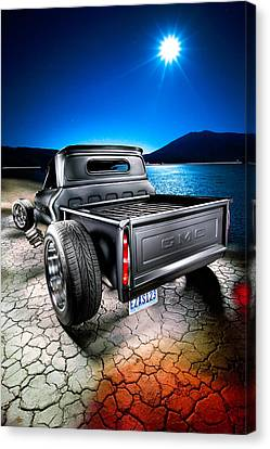 Millers Chop Shop 1964 Gmc Easy As 123 Canvas Print by Yo Pedro