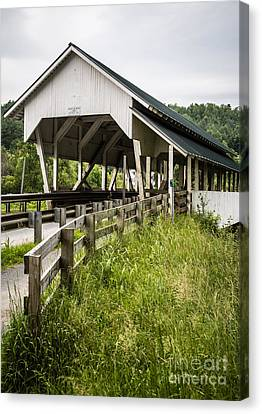 Millers Run Covered Bridge Canvas Print