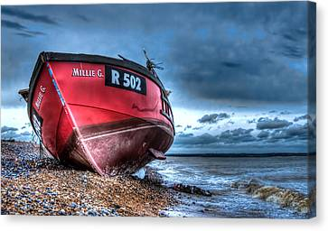 Millie G Wreck Canvas Print