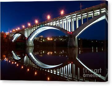 Million Dollar Bridge D300_09669 Canvas Print