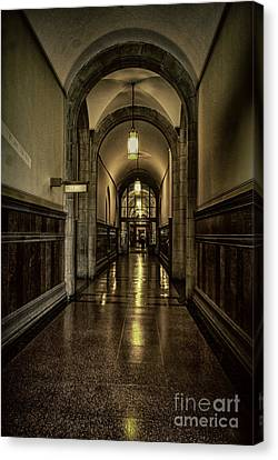 Million Dollar Hallway Canvas Print