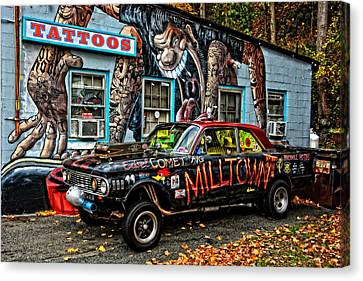 Milltown's Edsel Comet Canvas Print by Mike Martin