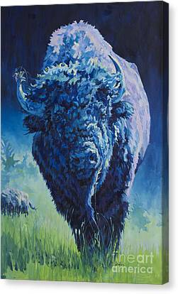 Buffalo Canvas Print - Milton by Patricia A Griffin