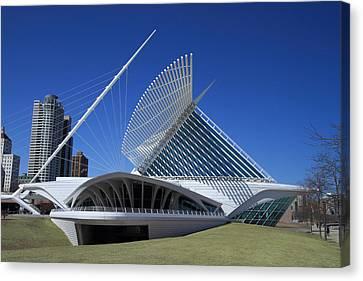 Milwaukee Art Museum - Calatrava Canvas Print by James Hammen