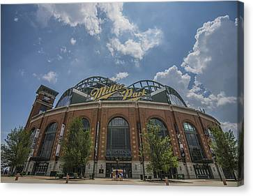 Milwaukee Brewers Miller Park 4 Canvas Print