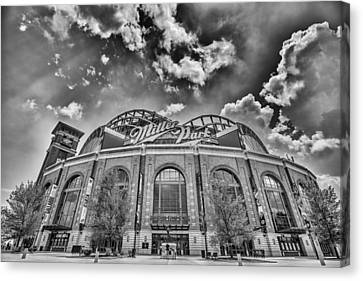 Milwaukee Brewers Miller Park 7 Canvas Print