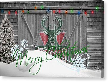 Milwaukee Bucks Canvas Print
