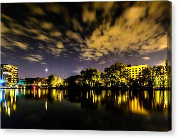 Milwaukee Riverwalk Canvas Print