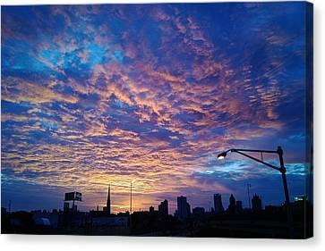 Milwaukee Sunrise Canvas Print