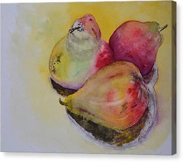 Mimi's Harvest Canvas Print by Beverley Harper Tinsley