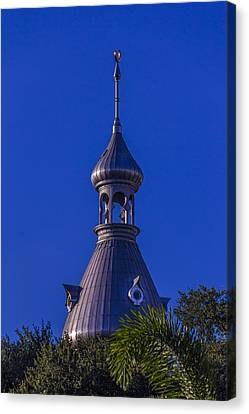Minaret In The Trees Canvas Print by Marvin Spates