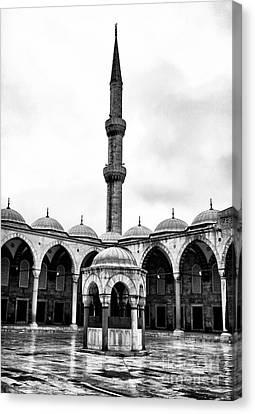 Sultanhmet Canvas Print - Minaret by John Rizzuto