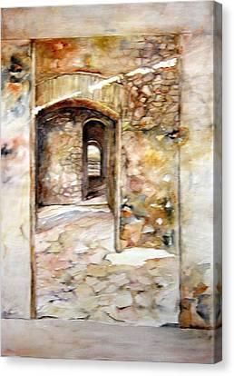 Minas De Corrales Canvas Print