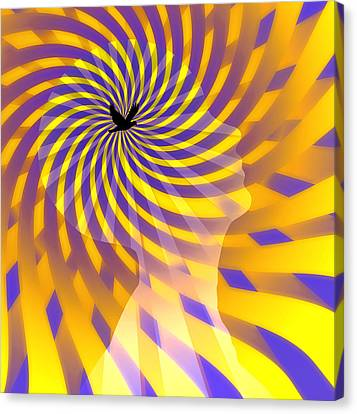 Mind Canvas Print by Bruce Rolff