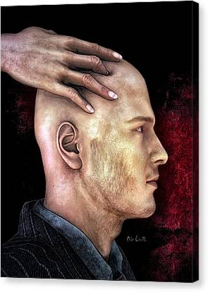 Mind Control Canvas Print by Bob Orsillo