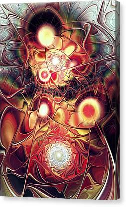 Mind Meld Canvas Print by Anastasiya Malakhova