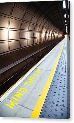 Mind The Gap Canvas Print by Adam Pender