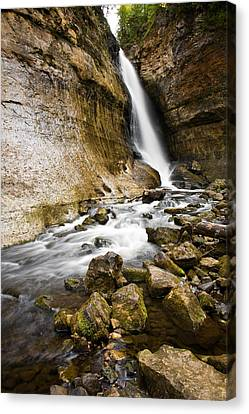 Miners Falls Canvas Print by James Marvin Phelps