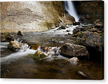 Miners River Canvas Print by James Marvin Phelps