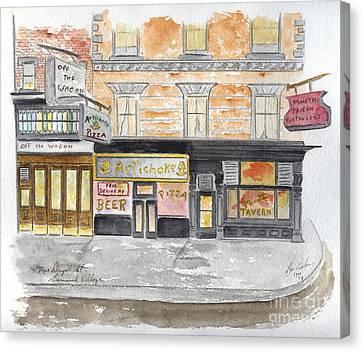 Minetta Tavern  Greenwich Village Canvas Print
