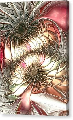 Artwork Canvas Print - Mingled by Anastasiya Malakhova