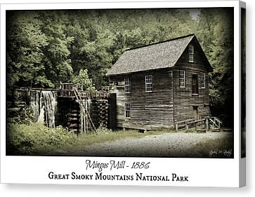 Gsmnp Canvas Print - Mingus Mill - Color Poster by Stephen Stookey