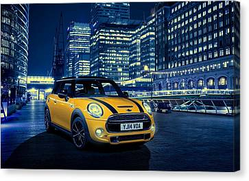 Mini Cooper S 2014 Canvas Print by Movie Poster Prints
