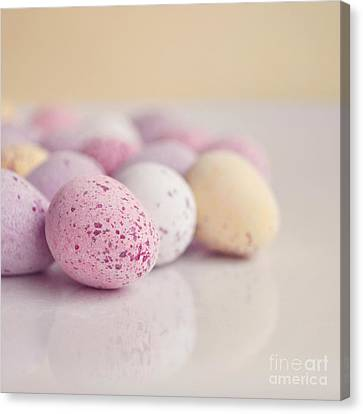 Mini Easter Eggs Canvas Print by Lyn Randle