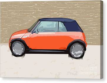 Mini Makeover Canvas Print by Bruce Stanfield