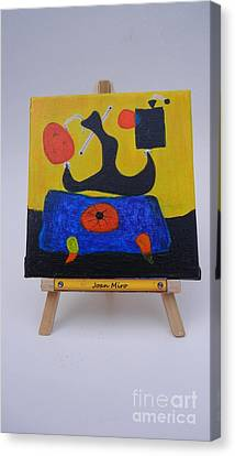 Mini Miro Canvas Print